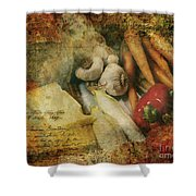 Bygone Moments Shower Curtain