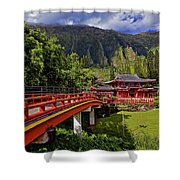 Byodo-in-temple Shower Curtain
