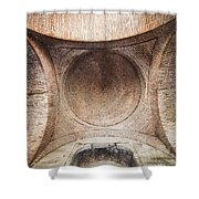 Byzantine Medieval Dome Ceiling Shower Curtain