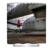 C-119 Flying Boxcar Shower Curtain