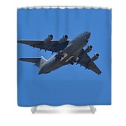 C 17 Globemaster Shower Curtain