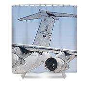 C-17 Globemaster Shower Curtain