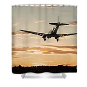 C-47 Finals Shower Curtain