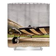 C-47 Snafu Special Shower Curtain