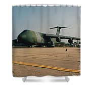 C-5 On Taxi Shower Curtain