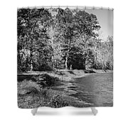Chesapeake And Ohio Canal And Towpath Shower Curtain