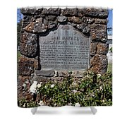 Ca-220 San Rafael Arcangel Mission Shower Curtain