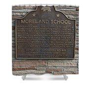 Ca-489 Moreland School Shower Curtain