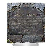 Ca-505 Almaden Vineyards Shower Curtain