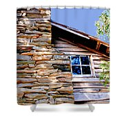 Cabin At Mabry Mill Shower Curtain