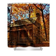 Cabin At The Cove Shower Curtain