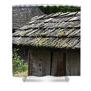 Cabin Community Shower Curtain