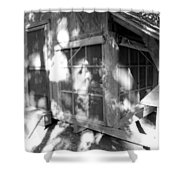 Cabin In The Wood Shower Curtain