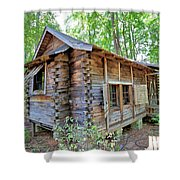 Cabin In The Woods Shower Curtain