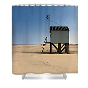 Cabin With A View. Shower Curtain