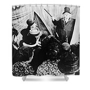 Cabinet Of Dr. Caligari Shower Curtain