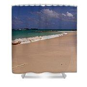 Cable Beach Bahamas Shower Curtain