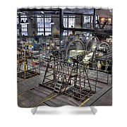 Cable Car Museum San Francisco Shower Curtain