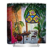 Cabo Cafe Shower Curtain