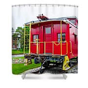 Caboose 476582 Shower Curtain