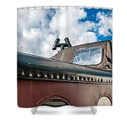 Caboose Roof Shower Curtain