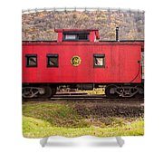 Caboose Shower Curtain