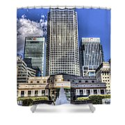 Cabot Square London Shower Curtain