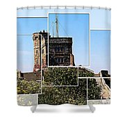 Cabot Tower Montage Shower Curtain