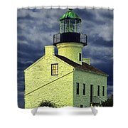 Cabrillo National Monument Lighthouse No 1 Shower Curtain