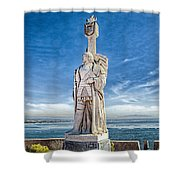 Cabrillo National Monument - Point Loma California Shower Curtain