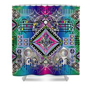 Cacophony Shower Curtain