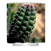 Cactus Arm Shower Curtain