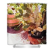 Cactus Garden Shower Curtain