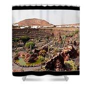 Cactus Paradise Shower Curtain