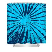 Cactus - Reunion Island-indian Ocean Shower Curtain