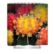 Cactus Topknots Shower Curtain