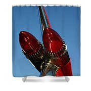 Caddie Lights Shower Curtain
