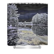 Caddo Lake II Shower Curtain
