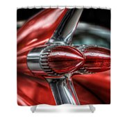 Caddy Back Light Shower Curtain