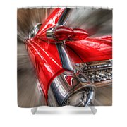 Caddy Corner  Shower Curtain
