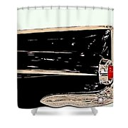 1959 Buick Electra 225 Fins Shower Curtain