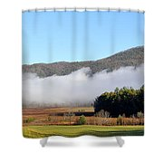 Cades Cove Fields Shower Curtain