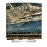 Cades Cove Hdr Spring 2014 Shower Curtain