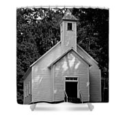 Cades Cove Missionary Baptist Church Shower Curtain