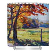 Cades Cove Morning Shower Curtain