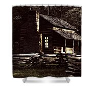 Cades Cove Reflections Shower Curtain