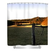 Cades Cove Shower Curtain by Skip Willits