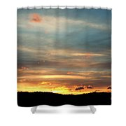 Cades Cove Sunset Shower Curtain
