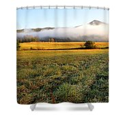 Cades Cove Valley Shower Curtain
