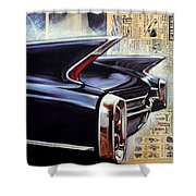 Cadillac Attack Shower Curtain